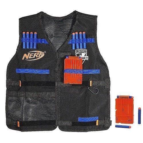 Nerf Tactical Vest Kit Elite Series With 2 6-Dart Quick Reload Clips & 12 Darts