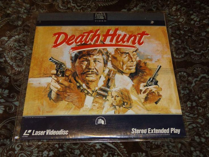 Death Hunt (1982, LaserDisc, CLV) CBS/Fox - Lee Marvin/Charles Bronson *SEALED!*