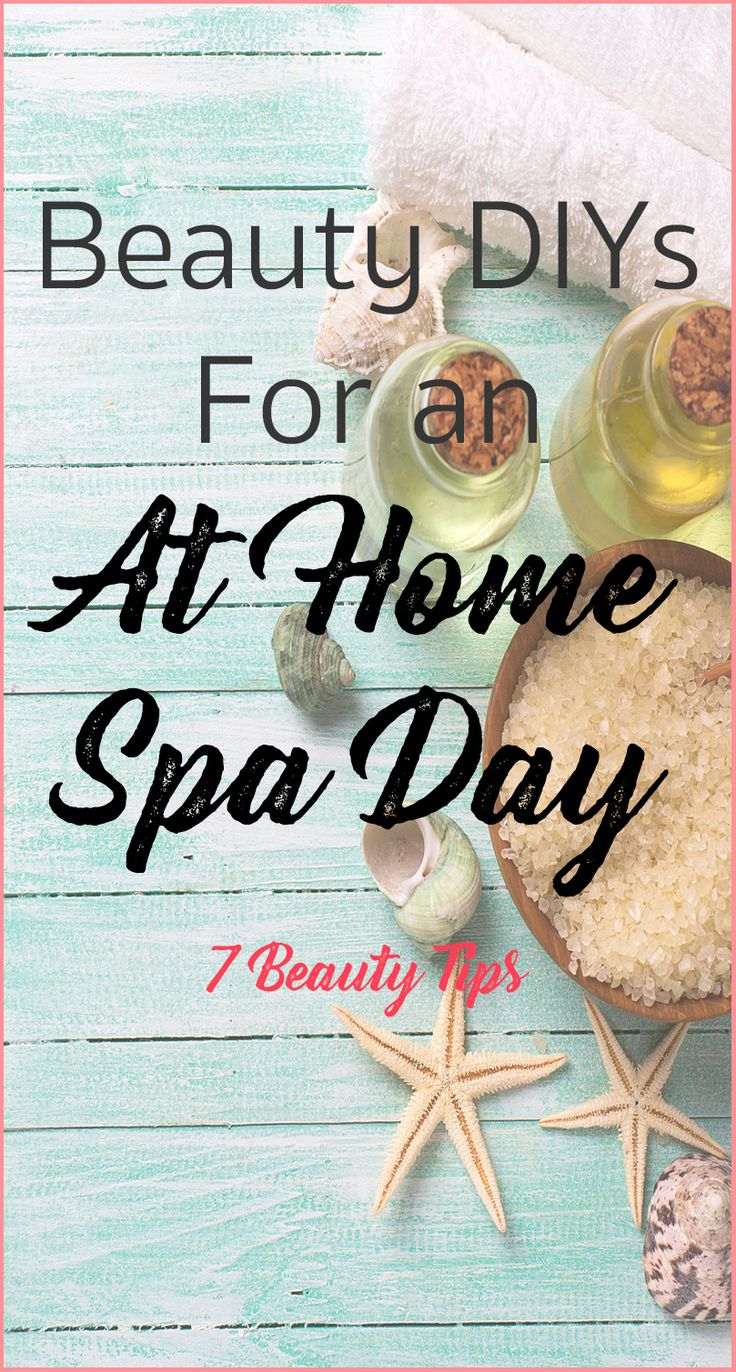 Here are some easy and natural beauty DIYs for an at home spa day @7beautytips