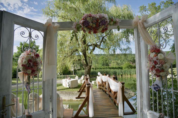 Esküvői dekor a szigeten