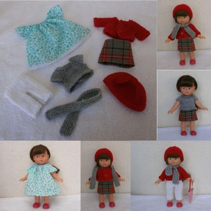 Habits poupée 20 cm : garde robe d'hiver : Jeux, jouets par mcl-poupees