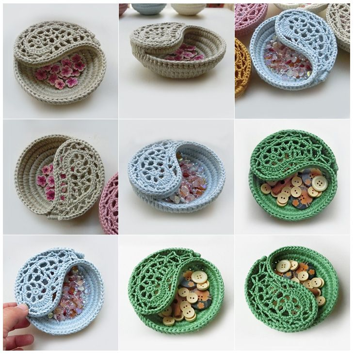 Crochet Yin Yang Bowl Free Pattern Dancox For