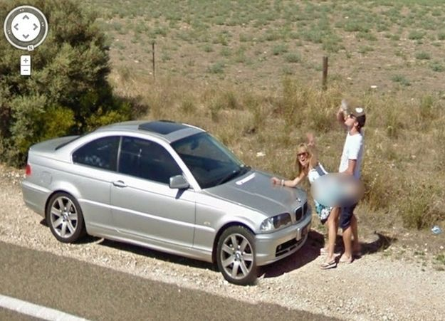 The 25 Most WTF Moments Captured On Google Street View