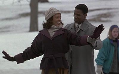 Whitney Houston et Denzel Washington The Preacher's Wife (1996)