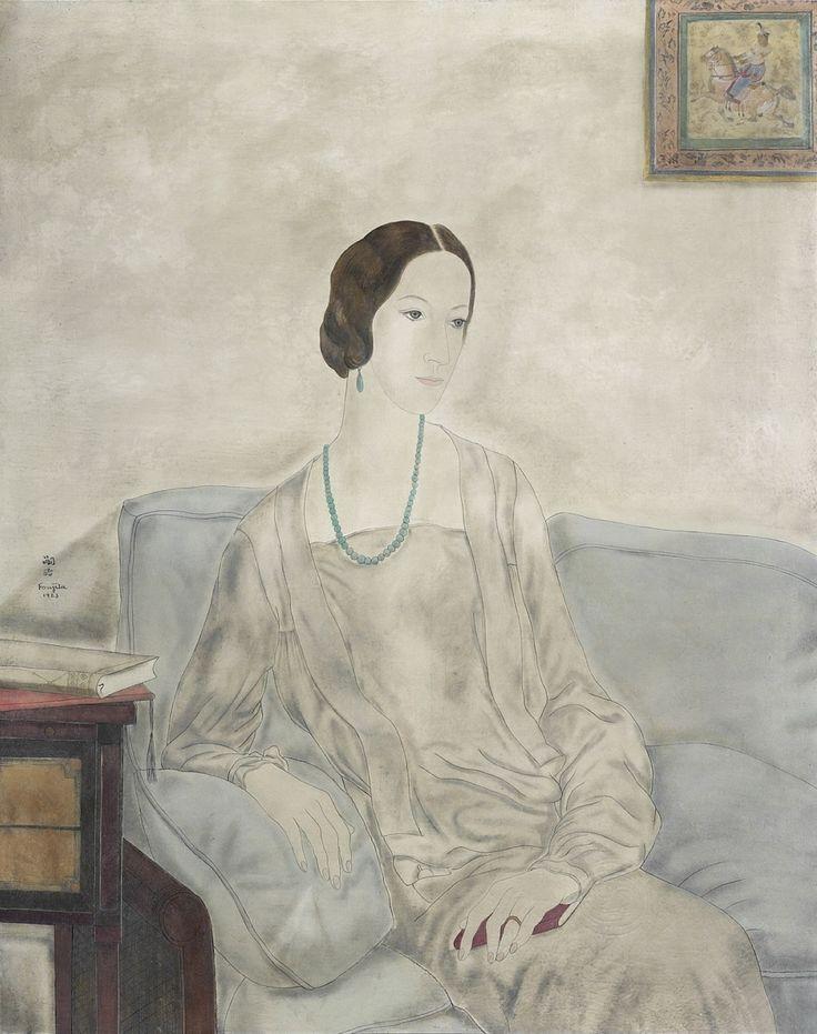 Rosita de Ganay, 1923, Tsuguharu Foujita (1886-1968)