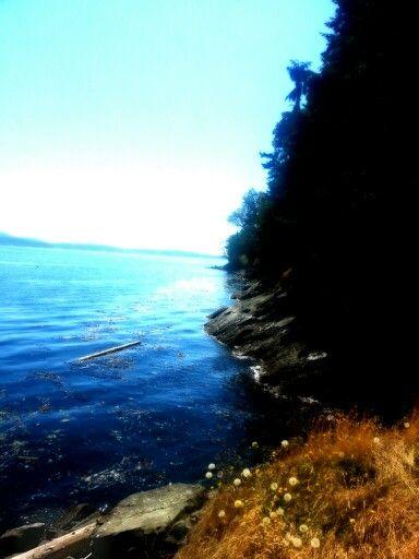 Vancouver Island seaside view