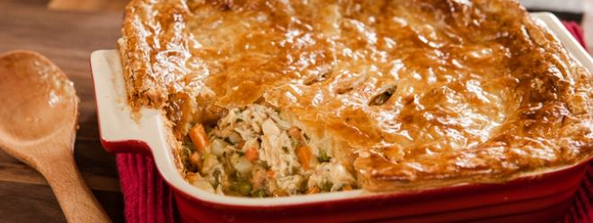 Zeste | Pâté au poulet et petits légumes