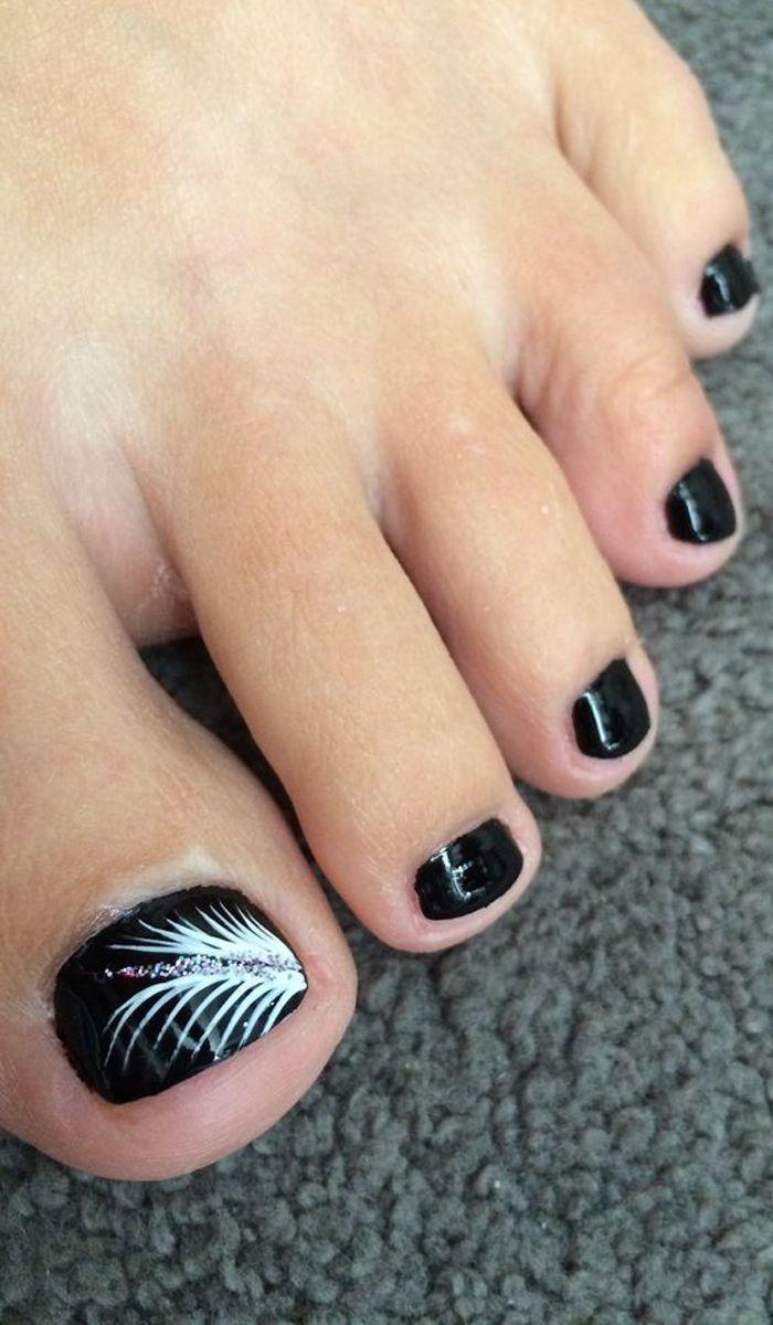 Toe Nail Art Design Gorgeousnailideas Simple Toe Nails Toe Nails Toe Nail Designs