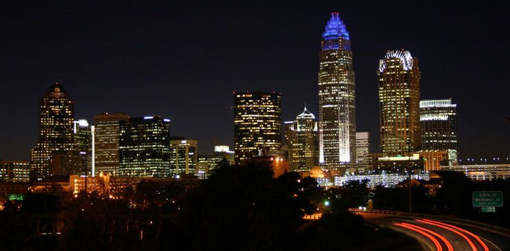 Charlotte, North Carolina- a VERY beautiful and clean city! Love it in NC!