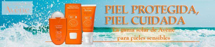 Avène ofrece #cremas #solares dirigidas a #pieles #sensibles en distintos formatos y texturas, ¿eliges la tuya?