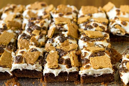 s'more brownies. and s'more and s'more and s'more