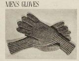 Knit Men's Gloves Pattern - Pattern to Knit a Pair of Men's Gloves - Knitting Patterns for Gloves