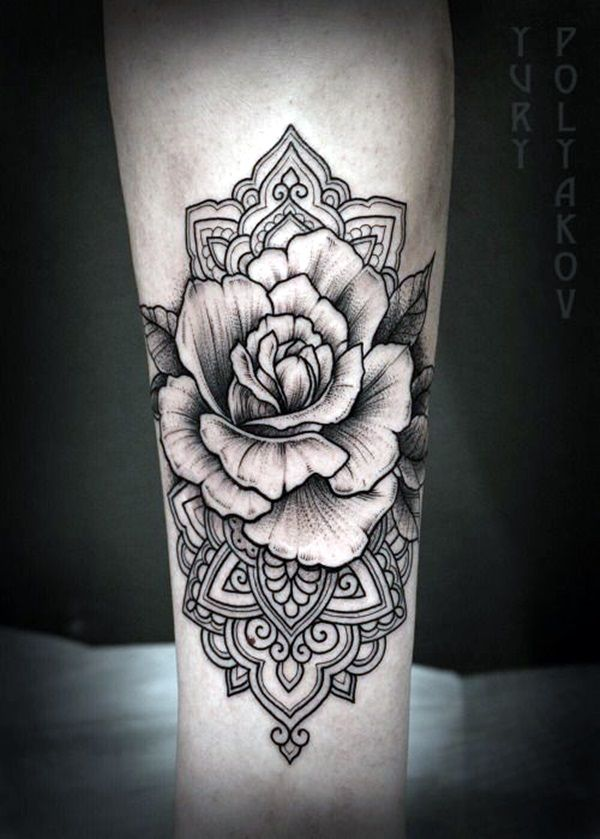 Floral Tattoo Ideas For Girls (11)