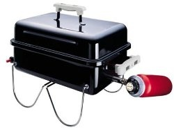 Weber Go Anywhere - I'm so in love with this little gas grill - even if it looks like a tool box!