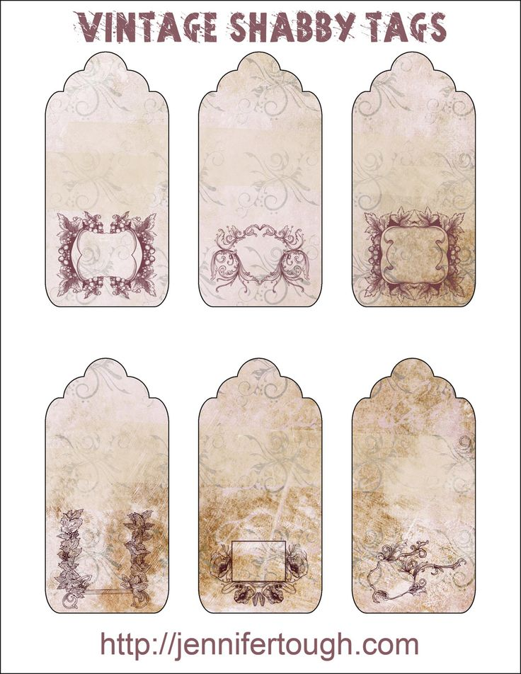 Vintage Wedding Gift Tag Templates Free : 17 Best images about If I cant draw it, Ill print it on Pinterest ...