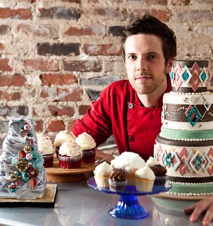 Joshua John Russell - cake decorator; cool job