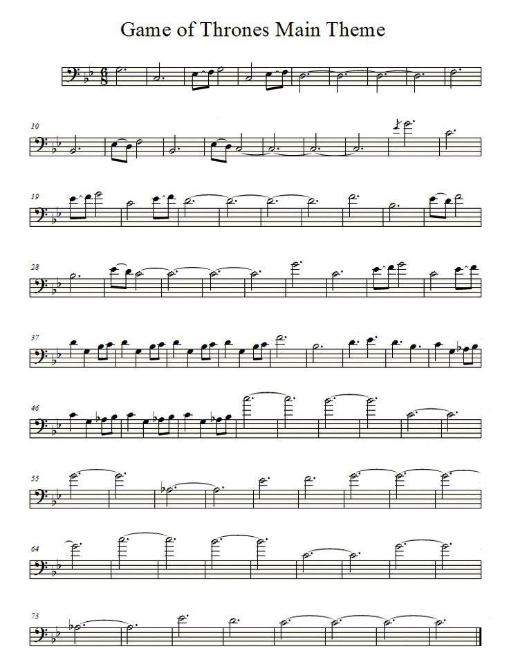 Game of thrones cello