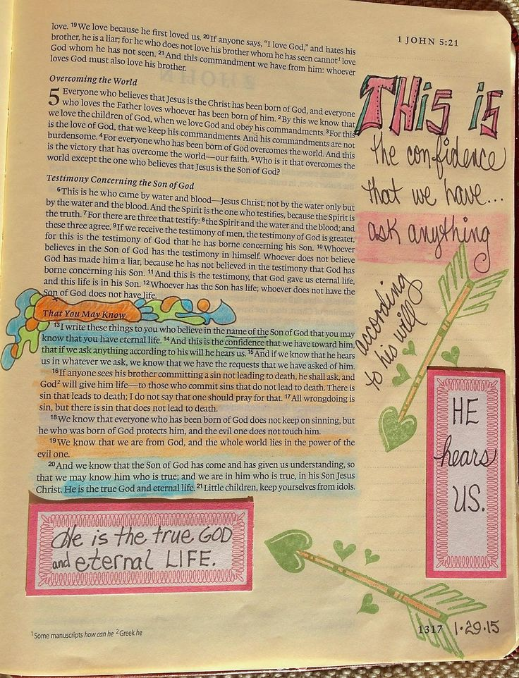 58 best images about BIBLE JOURNAL: 1 John on Pinterest ...