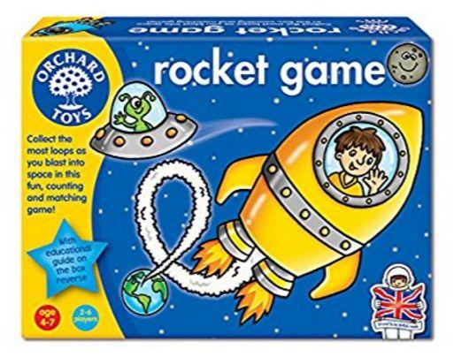 https://www.i-sabuy.com/ (3 – 6 ขวบ) ของเล่นเสริมทักษะ บอร์ดเกม นับเลข Rocket Game (ข.