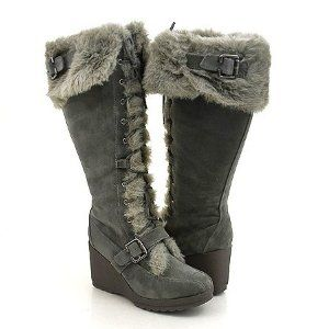 Breckelles Wedge Snow Boots