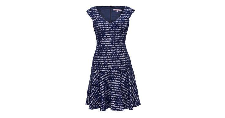 Review Australia | Atlantis Dress Navy/cream