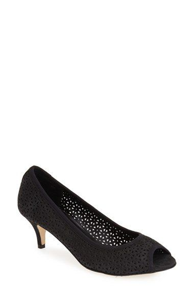 VANELi 'Ugonia' Perforated Peep Toe Pump (Women) | Nordstrom
