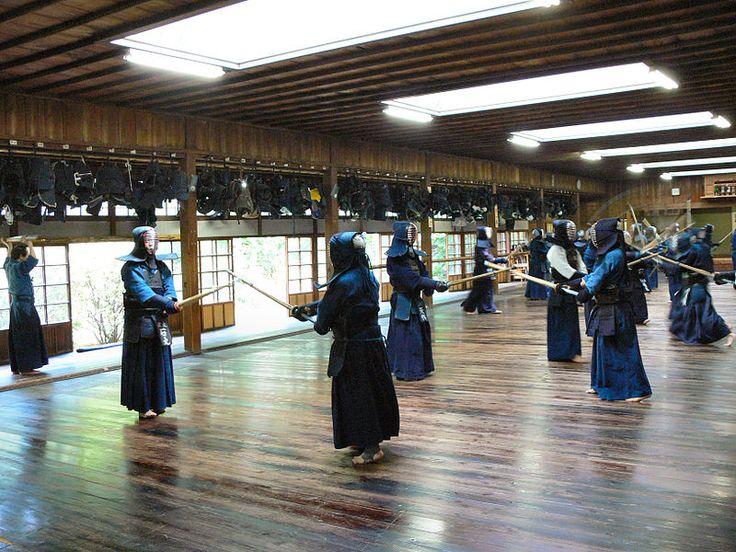 Kendo dojo (Trainingshalle für versch. Kampfkünste)