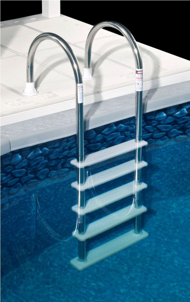 Best 25 Above Ground Pool Ladders Ideas On Pinterest