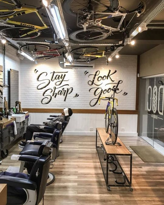 livingby d barber shop in so paulo brasil - Barbershop Design Ideas