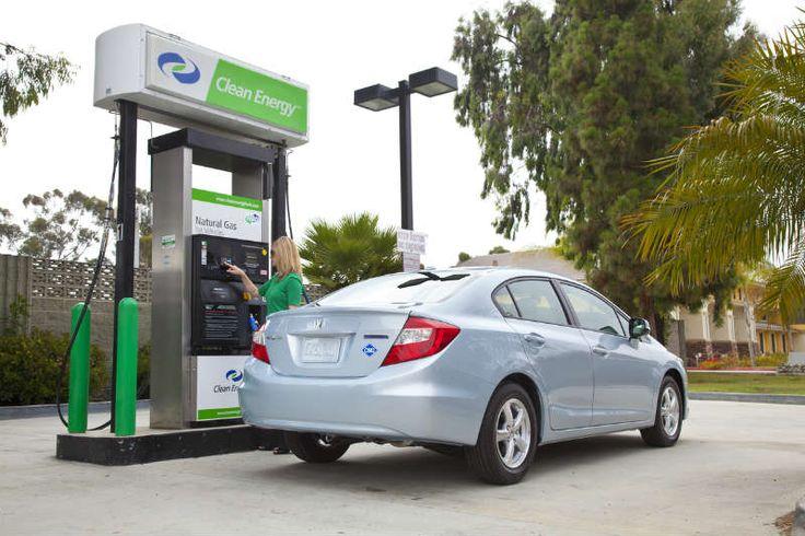 Заправка автомобиля газом