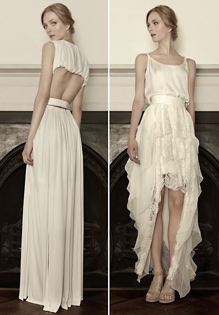 Romantic wedding gowns by Sophia Kokosalaki