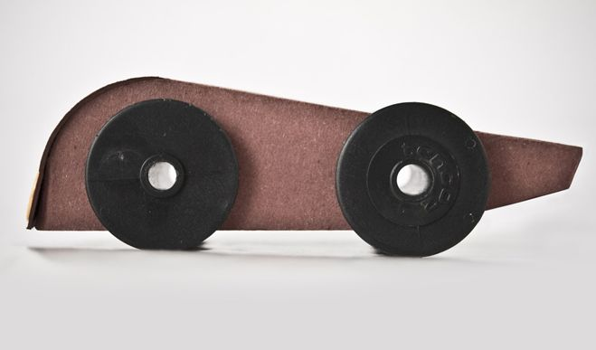 GoCarta - Cardboard Toy Car - 100% recycled aquapotabile.com