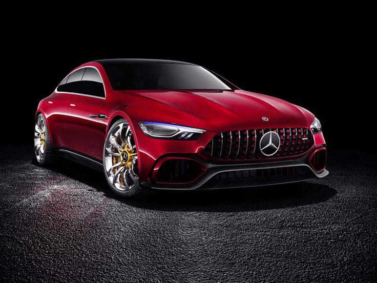 АВТОМОБИЛИ.   Концепт-кар Mercedes-AMG GT Concept – это спортивная динамика будущего