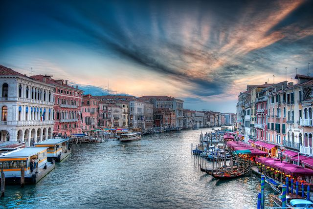 Venice, ItalyBeautiful Italy, Cities, Grand Hdr, Hdr Venice, Future Travel, Venice Italy, Places, Boats Buildings, Mighty Grand