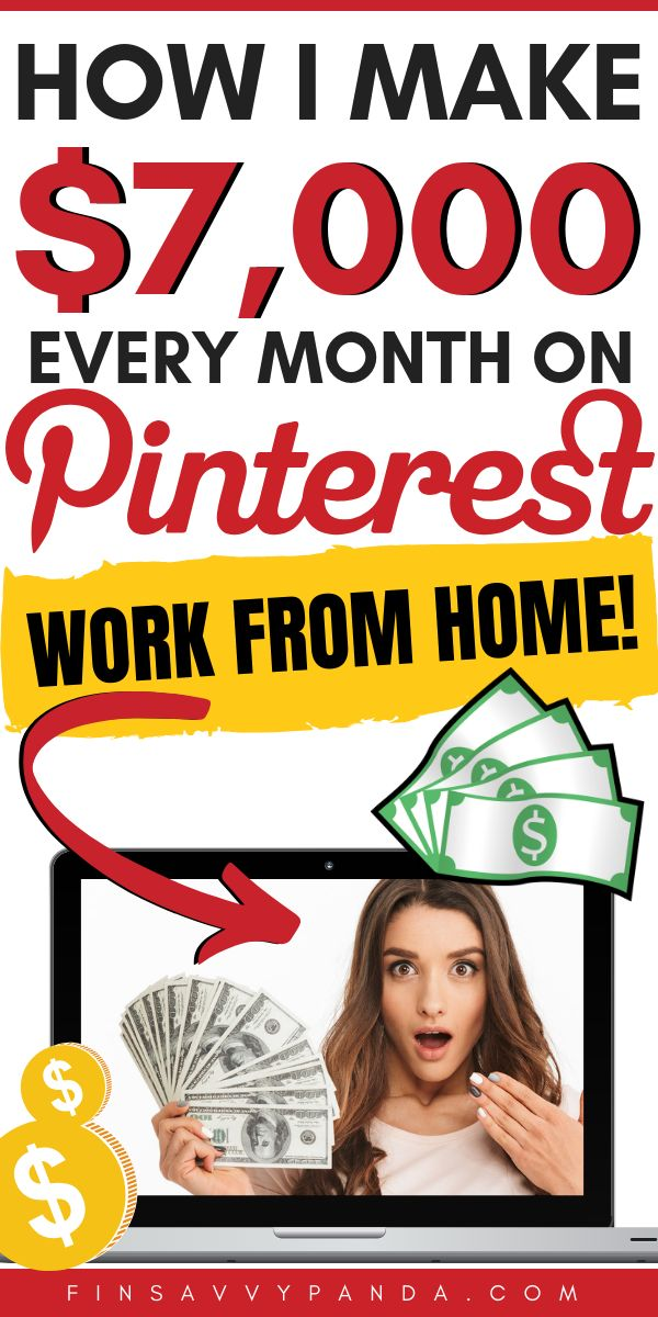 How To Make Money Online With Pinterest (Work From Home Jobs)