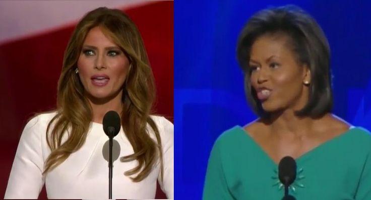 Melania Trump Plagiarized Michele Obama's 2008 Convention Speech