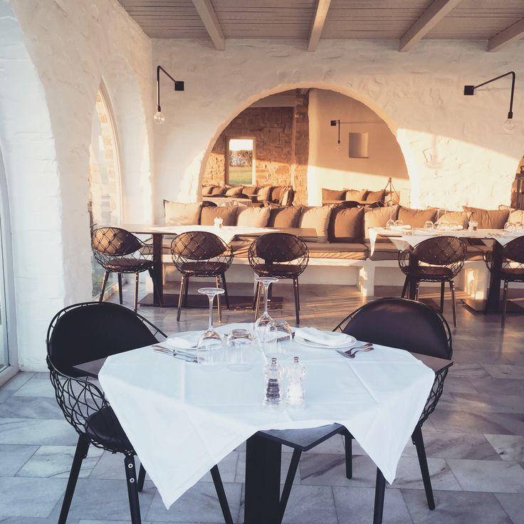 Restaurant, Poseidon Resort & Spa, Paros, Greece