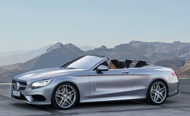 2017 Mercedes-Benz S-Class convertible-front view! Cool WHIP! MrsS
