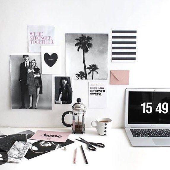 #hemmakontor #skrivbord #kontor #inreda #desk #desktop #inreda #inredning #interior #interiör