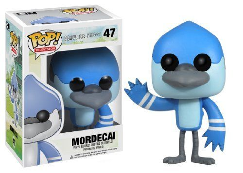 Funko POP Television Mordecai Regular Show Vinyl Figure by Funko
