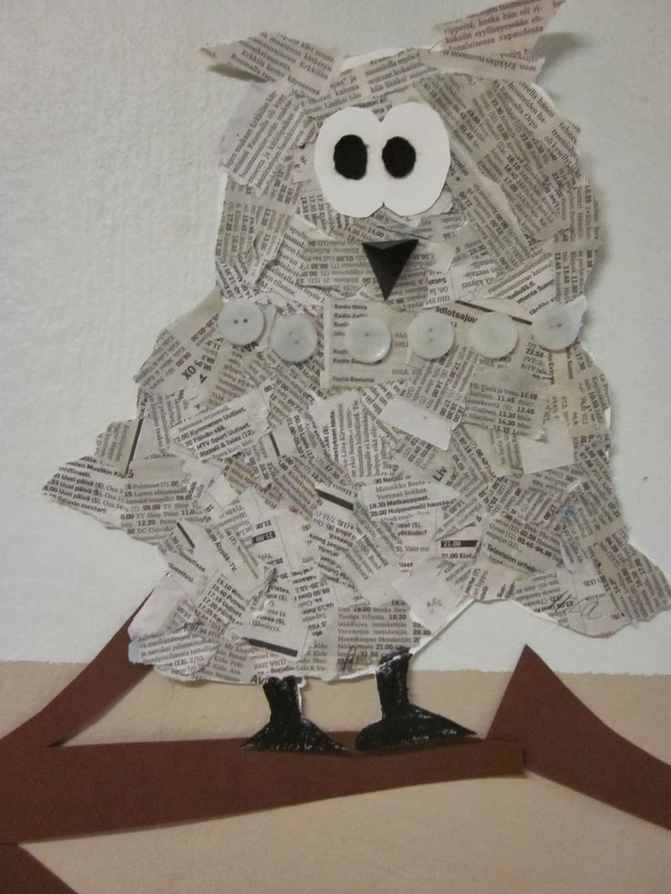 Pöllö sanomalehdestä!