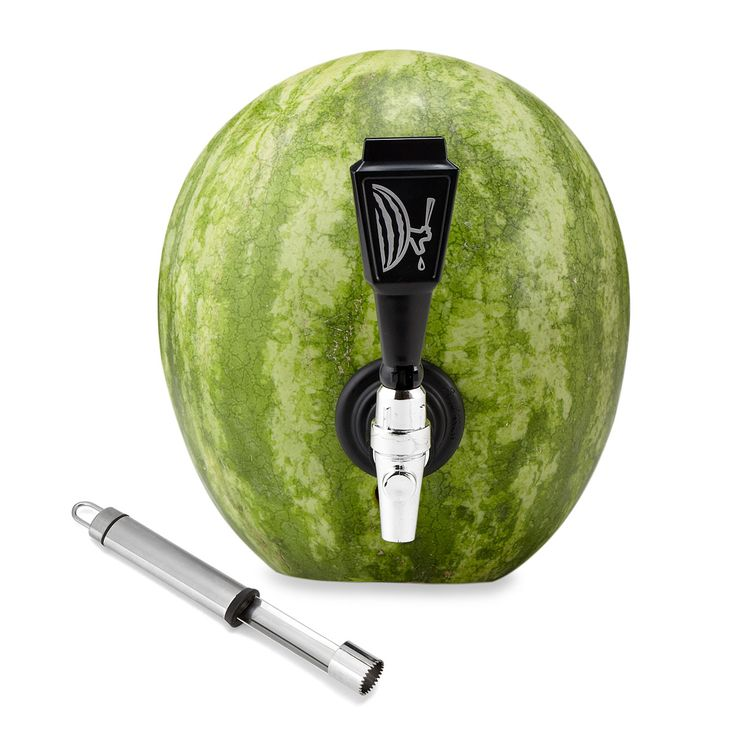 Watermelon Keg Tapping Kit Turns Fruit Into A Party Faucet O Fun