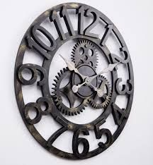 Reloj de pared vintage grande➕More Pins Like This At FOSTERGINGER @ Pinterest✖️