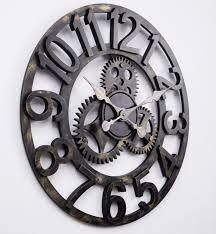 reloj de pared vintage grande