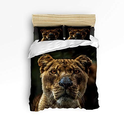 Lusweet Duvet Cover Settwin Size From The Gaze Of The Lion King