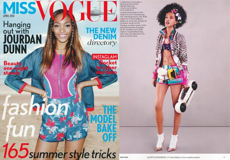 Kurtka Maison Scotch - Miss Vogue UK Kwiecień 2014