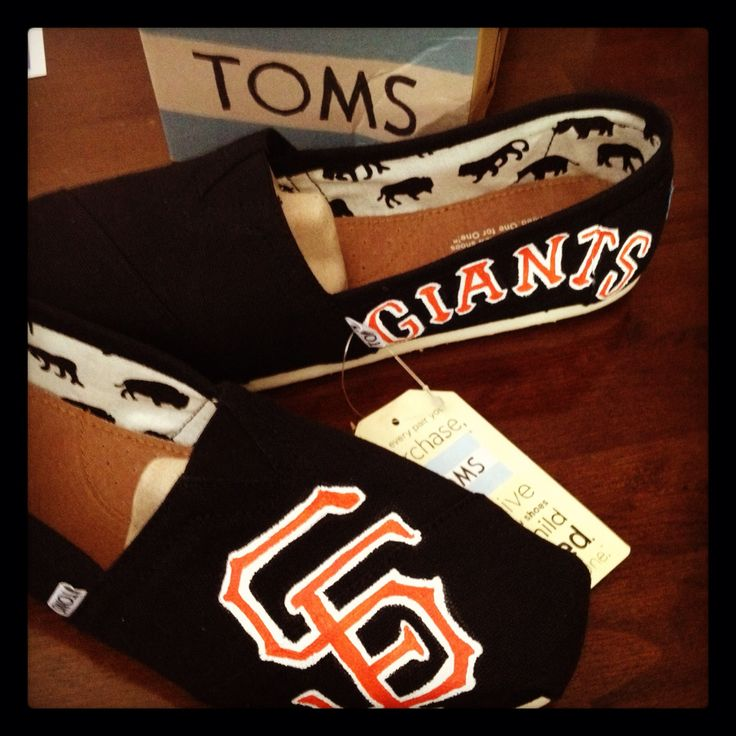 SF Giants Toms