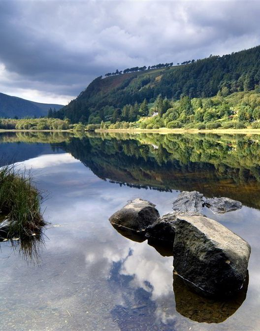 Glendalough, Ireland.. this is such an amazing area..Many scenes from Braveheart were filmed in this region.