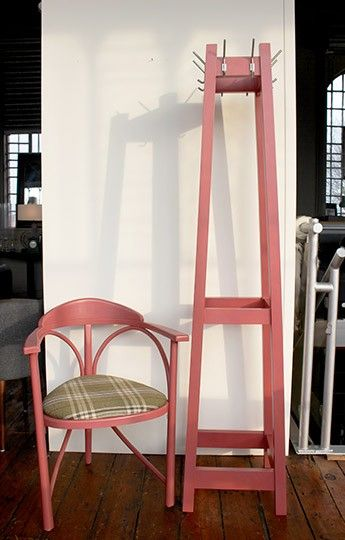 Hat/Coat Stand in Red - WARINGS Store