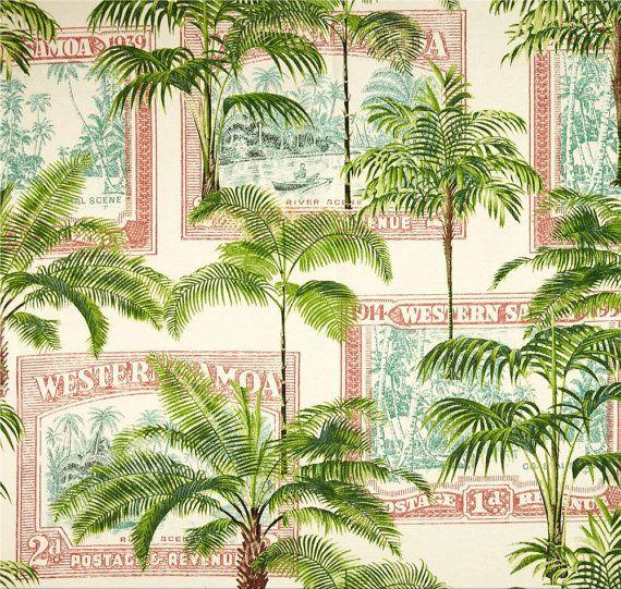 Key Biscayne Bayou Tropical Outdoor Fabric by ShopMyFabrics